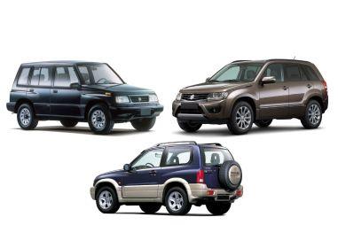 Suzuki Escudo/Vitara первых трех поколений (1988–2017 гг.). Крепыш со слабым сердцем