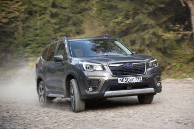 Новый Subaru Forester: «паркетник» для взрослых