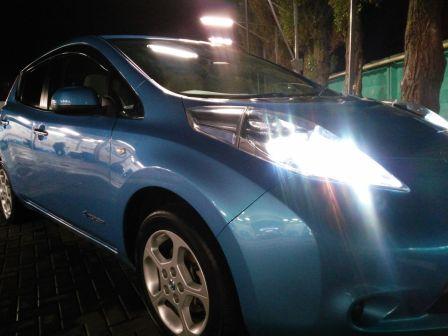 Nissan Leaf 2011 - отзыв владельца