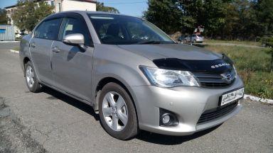 Toyota Corolla Axio 2013 отзыв автора | Дата публикации 04.10.2018.