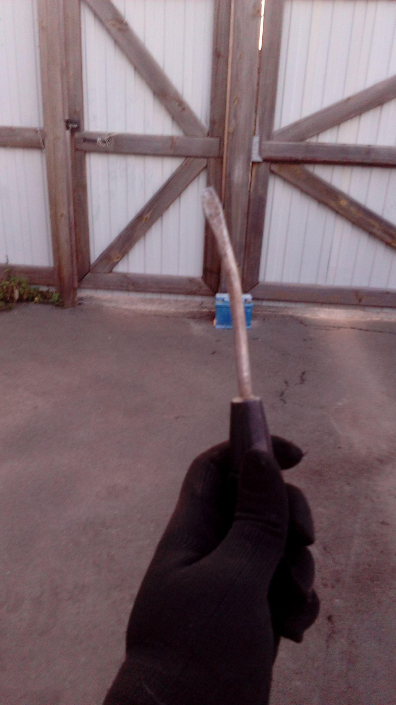 Пострадавший в борьбе с карбом инструмент