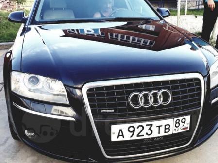 Audi A8 2006 - отзыв владельца