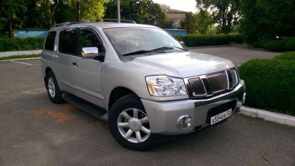 Nissan Armada 2006 - отзыв владельца