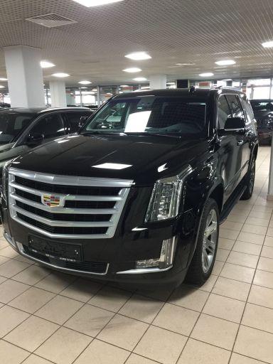 Cadillac Escalade 2018 отзыв автора | Дата публикации 07.10.2018.