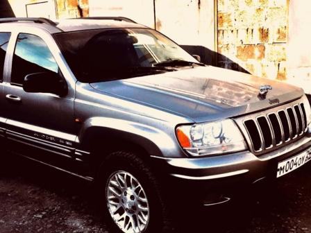 Jeep Grand Cherokee 2002 - отзыв владельца