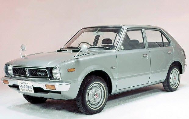 Первый Civic, 1973 год