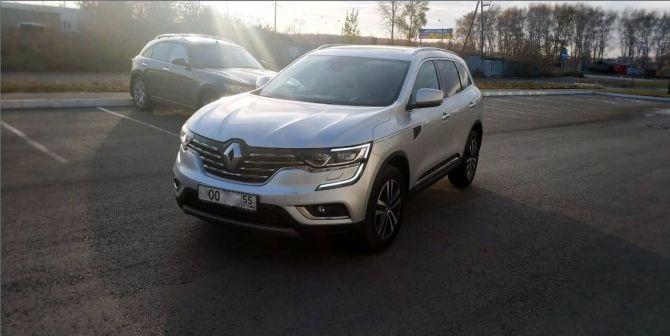Renault Koleos 2017 - отзыв владельца