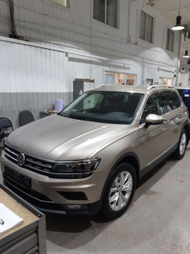Volkswagen Tiguan 2018 отзыв автора | Дата публикации 17.10.2018.