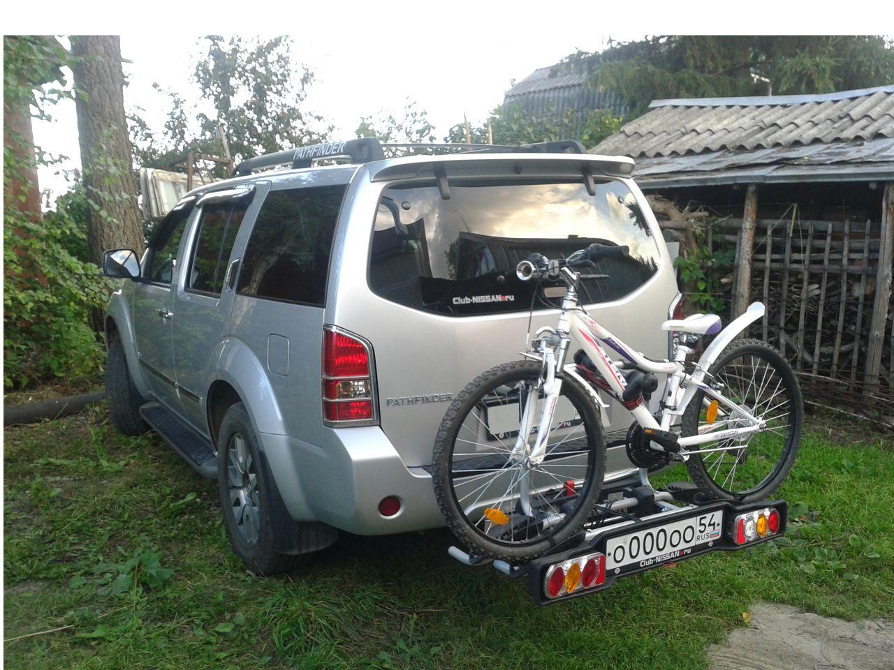 Приспособление для транспортировки двух велосипедов на фаркоп классная вещь