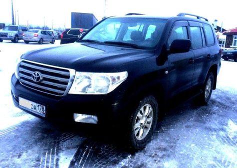 Toyota Land Cruiser 2009 - отзыв владельца