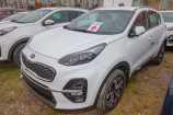 Kia Sportage. CASSA WHITE (WD)