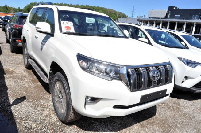 Toyota Land Cruiser Prado, 2018 год, 3 849 000 руб.