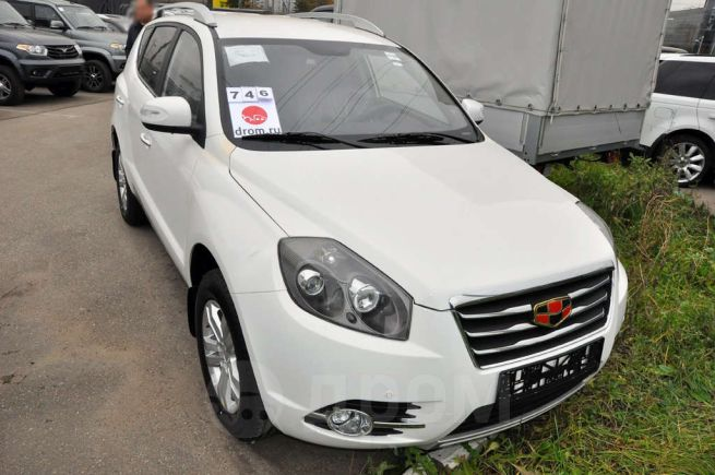 Geely Emgrand X7, 2016 год, 922 000 руб.