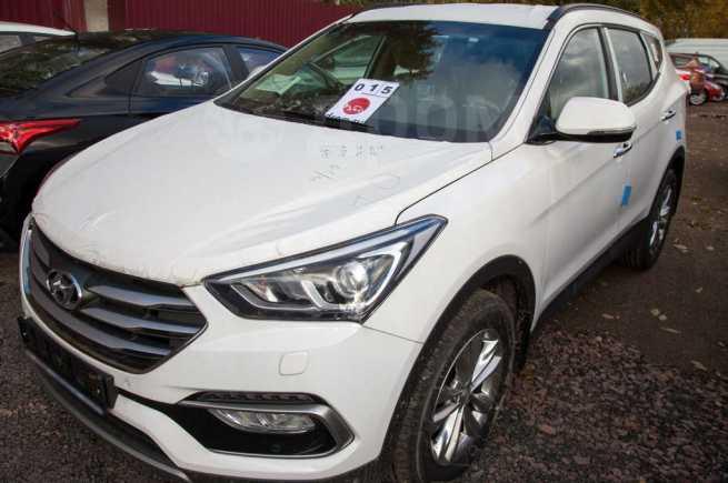 Hyundai Santa Fe, 2017 год, 2 090 800 руб.