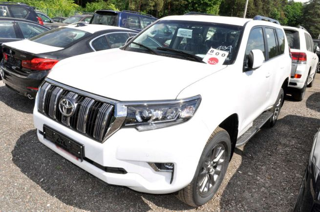 Toyota Land Cruiser Prado, 2018 год, 3 806 000 руб.