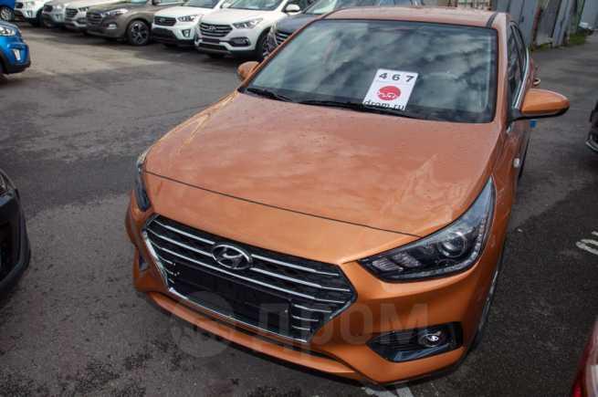 Hyundai Solaris, 2018 год, 1 035 900 руб.
