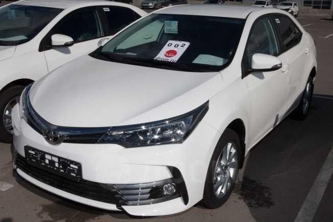 Toyota Corolla, 2018 год, 1 257 500 руб.
