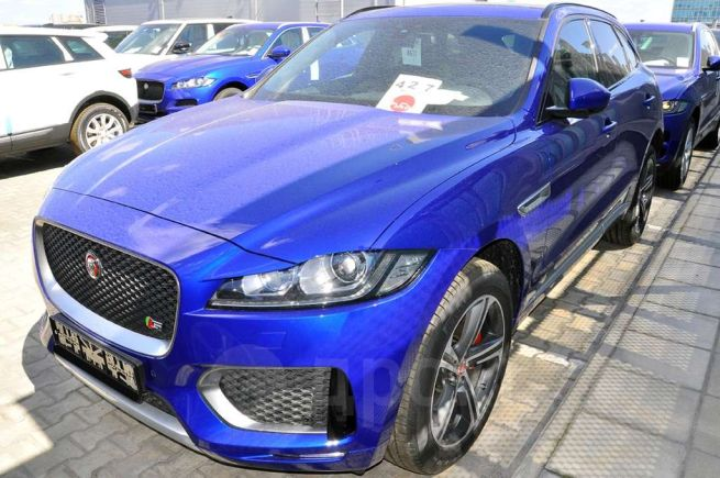 Jaguar F-Pace, 2018 год, 5 180 000 руб.