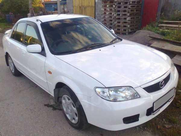 Mazda 323, 2001 год, 208 000 руб.