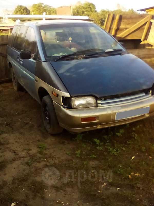 Nissan Prairie, 1989 год, 30 000 руб.