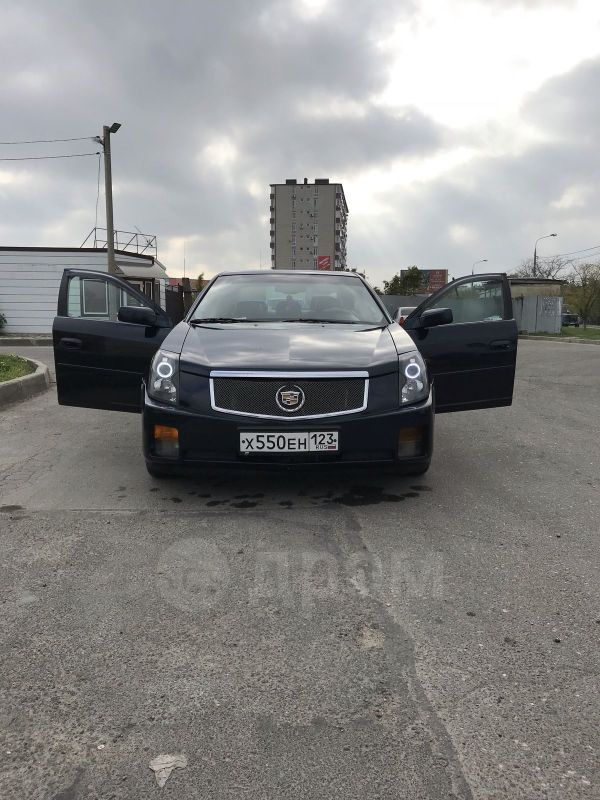 Cadillac CTS, 2003 год, 520 000 руб.