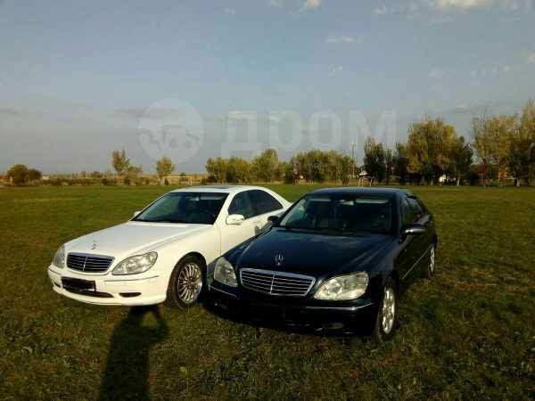 Mercedes-Benz S-Class, 2002 год, 750 000 руб.