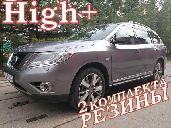 Nissan Pathfinder, 2014 год, 1 599 000 руб.