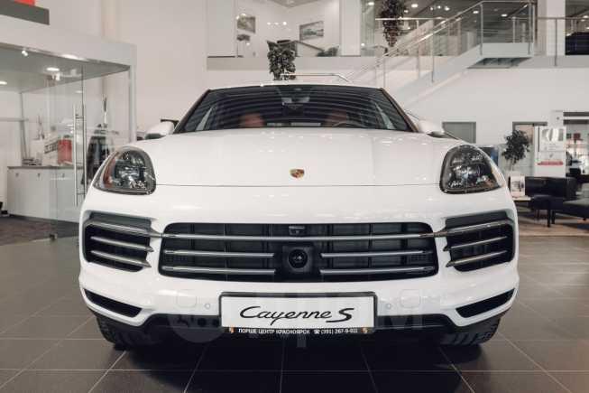 Porsche Cayenne, 2018 год, 8 922 220 руб.