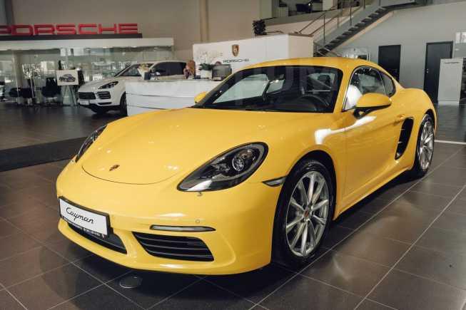 Porsche Cayman, 2018 год, 4 512 027 руб.