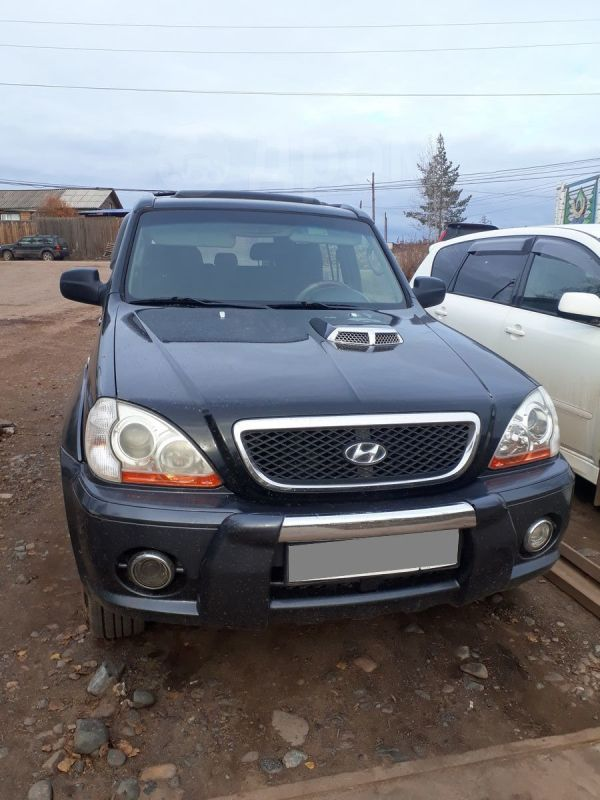 Hyundai Terracan, 2002 год, 410 000 руб.