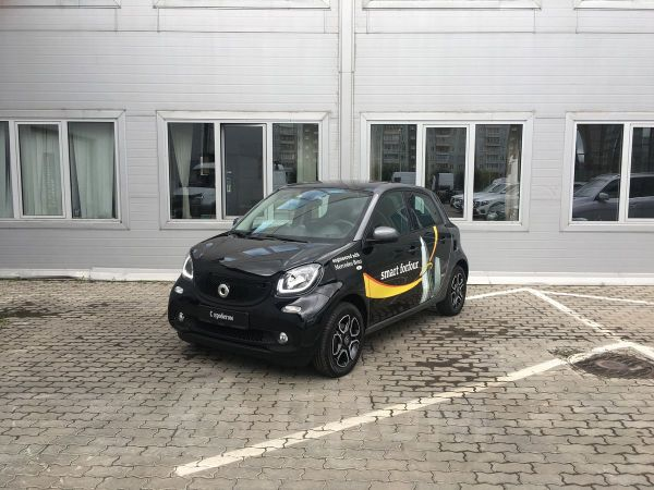 Smart Forfour, 2017 год, 1 170 000 руб.