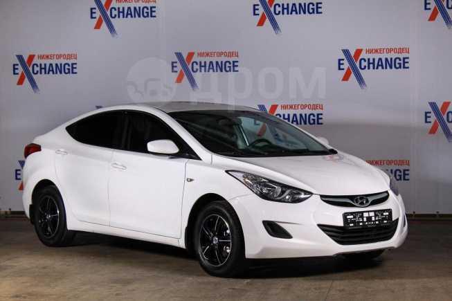 Hyundai Elantra, 2013 год, 576 000 руб.