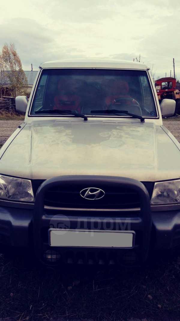 Hyundai Galloper, 2002 год, 260 000 руб.