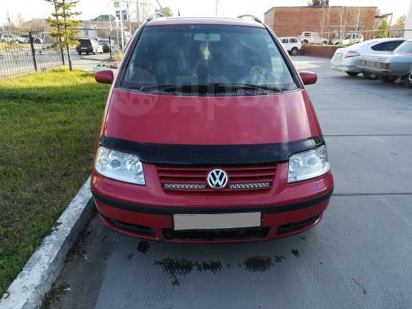 Volkswagen Sharan, 2002 год, 350 000 руб.