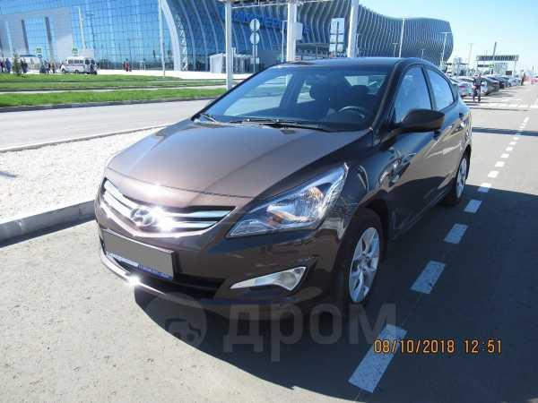 Hyundai Solaris, 2016 год, 595 000 руб.