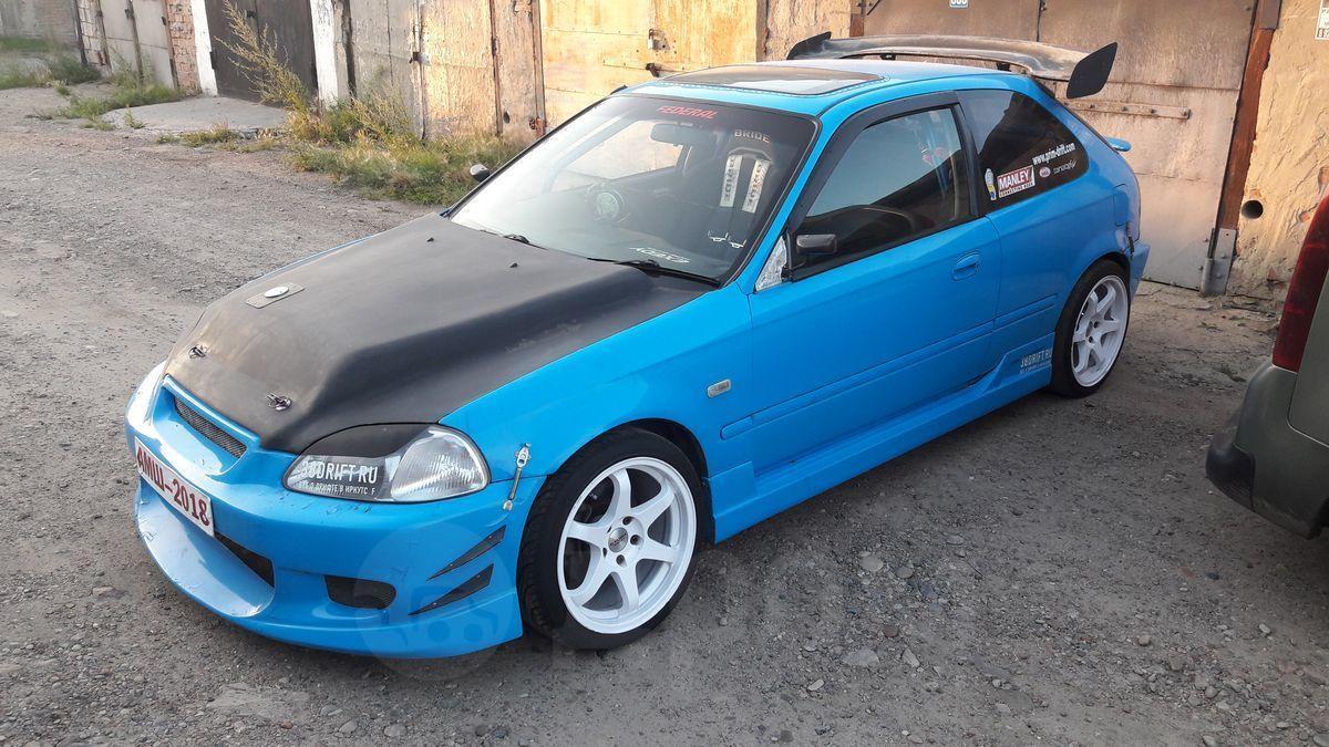 Продажа Хонда Цивик 1998г. в Иркутске, Двигатель TOYOTA 3S ...  Хонда Цивик 1998 Хэтчбек