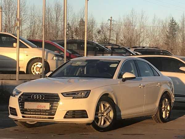 Audi A4, 2017 год, 2 596 300 руб.