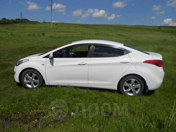 Hyundai Elantra, 2013 год, 640 000 руб.