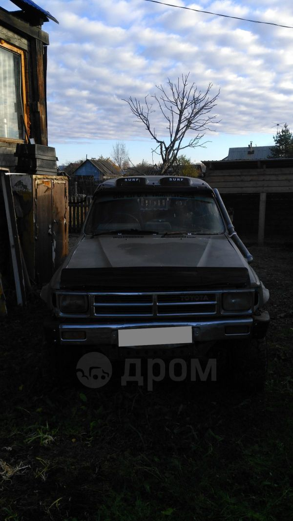 Toyota Hilux Surf, 1987 год, 95 000 руб.