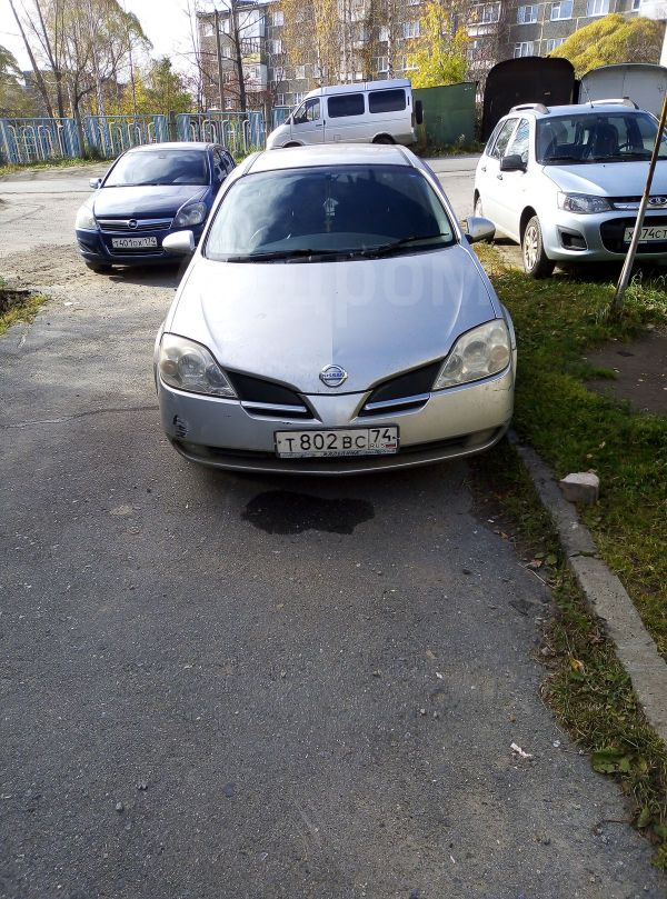 Nissan Primera, 2001 год, 195 000 руб.