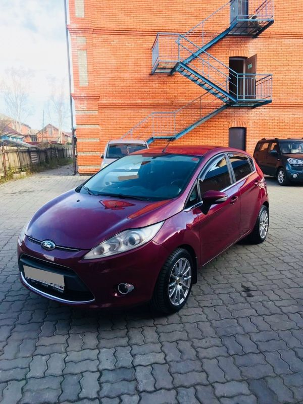 Ford Fiesta, 2012 год, 460 000 руб.