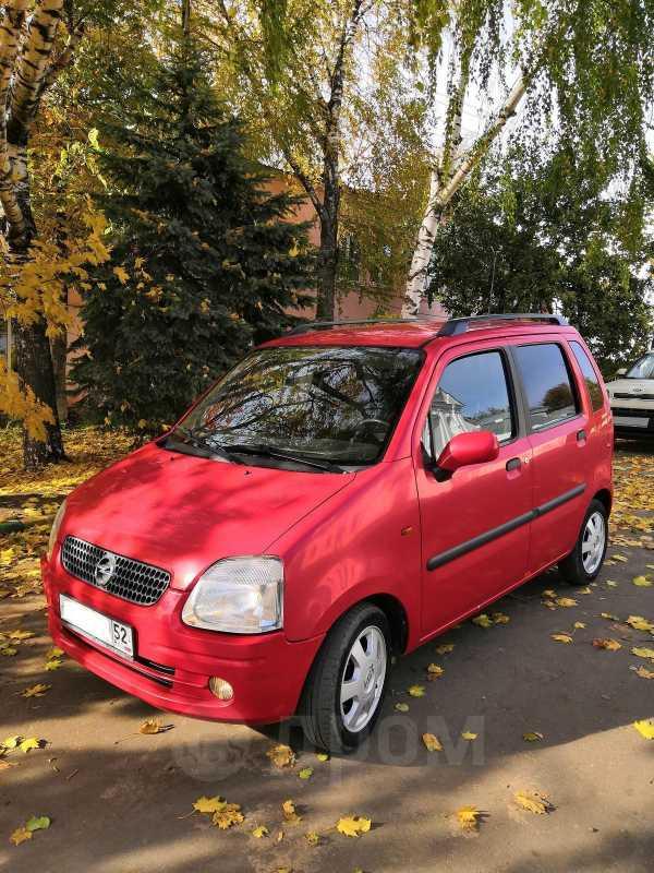 Opel Agila, 2001 год, 140 000 руб.