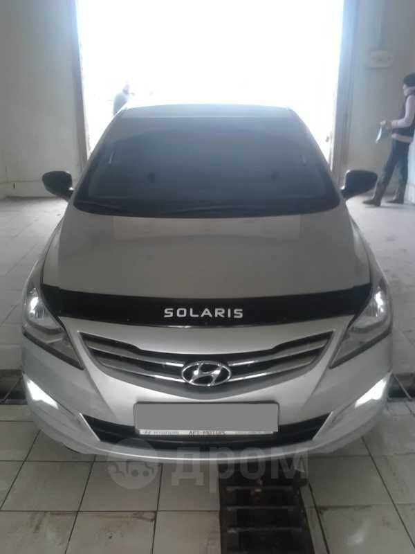 Hyundai Solaris, 2015 год, 508 000 руб.