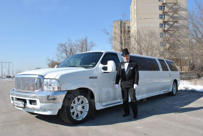 Ford Excursion, 2002 год, 650 000 руб.