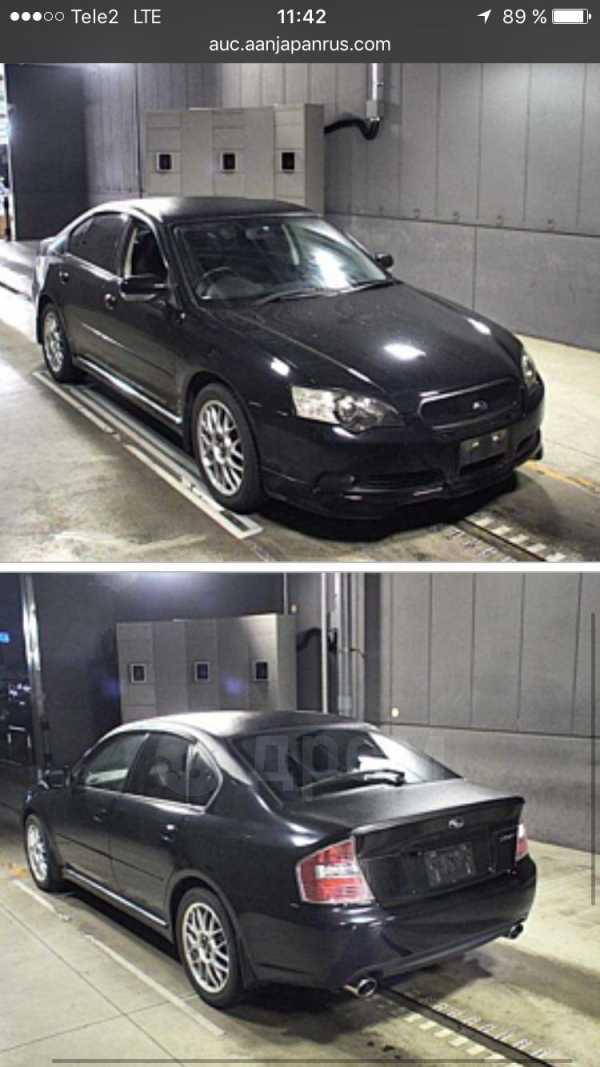 Subaru Legacy B4, 2005 год, 350 000 руб.