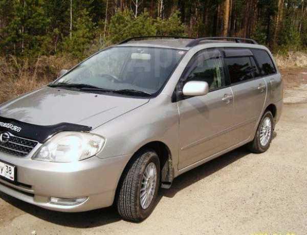 Toyota Corolla Fielder, 2001 год, 220 000 руб.