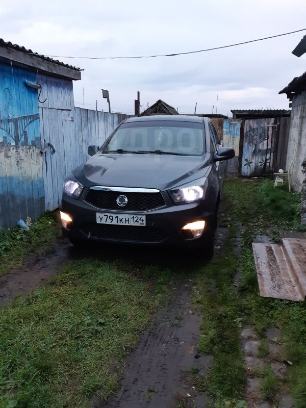 SsangYong Actyon Sports, 2012 год, 600 000 руб.