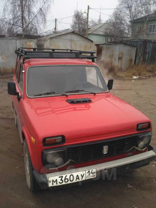 Лада 4x4 2121 Нива, 1986 год, 140 000 руб.