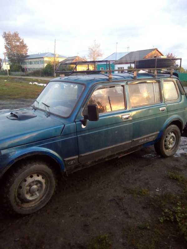 Лада 4x4 2131 Нива, 2004 год, 95 000 руб.