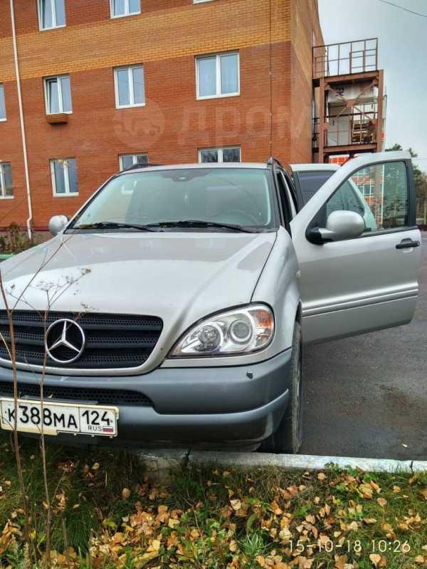 Mercedes-Benz M-Class, 1999 год, 340 000 руб.